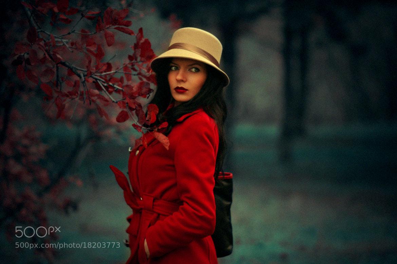 Photograph Romantic soul (self-portrait) by Hellen Photographer on 500px