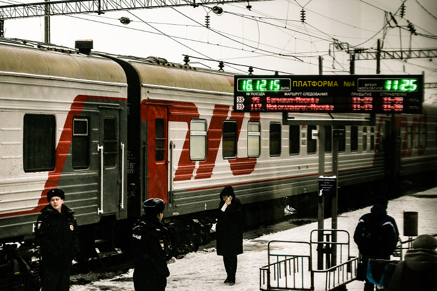 Trans Siberian Railway by Jet Set Brunette Photography on 500px.com