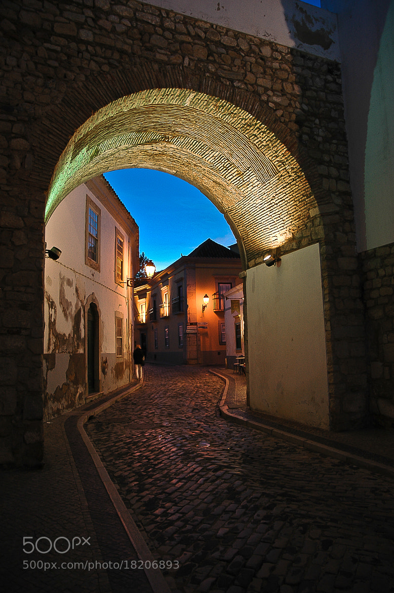 Photograph Arch to the Old Town - Faro by José Covas on 500px