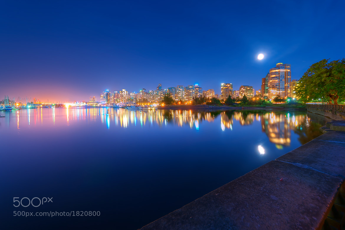 Photograph Coal Harbour by Night by Magnus Larsson on 500px