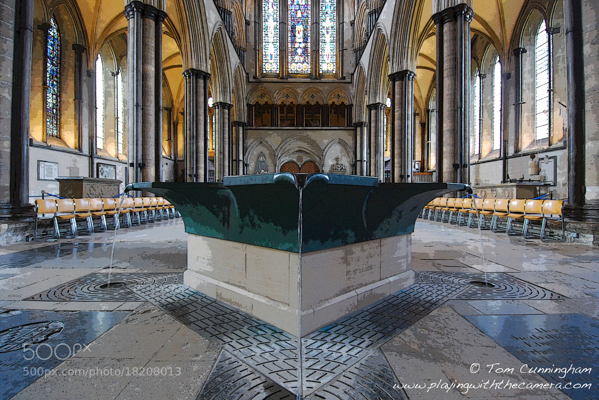 Photograph Art: Salisbury Cathedral Font by Tom Cunningham on 500px
