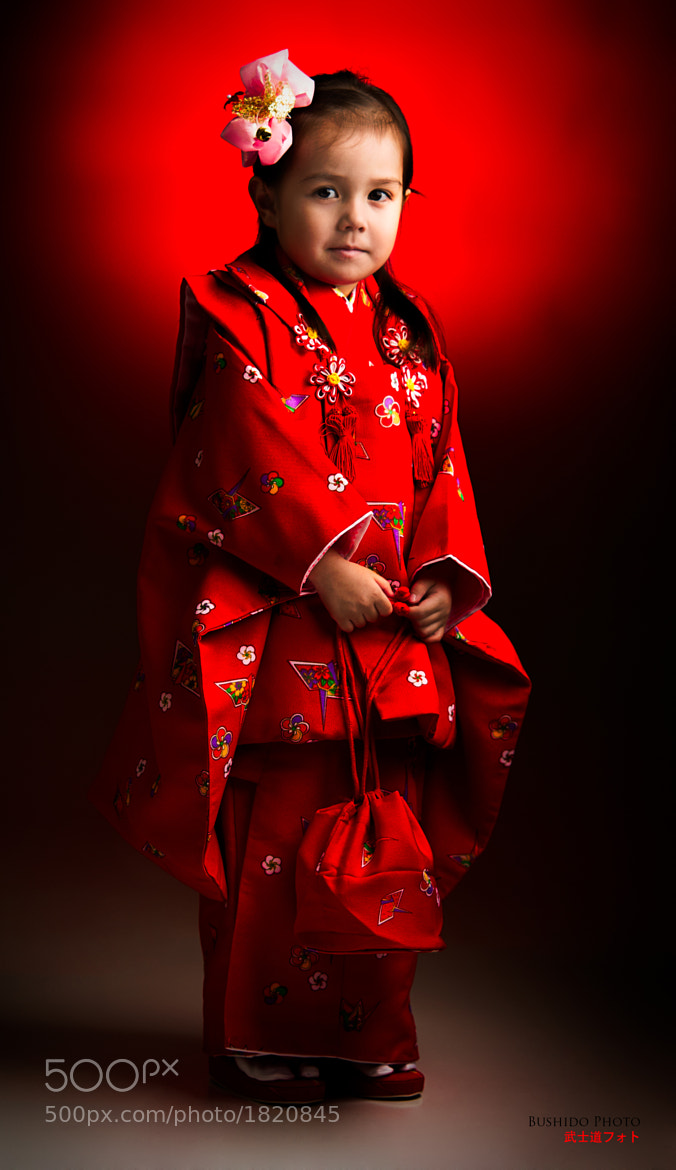 Photograph Red Kimono Girl by Chris Bergstrom on 500px