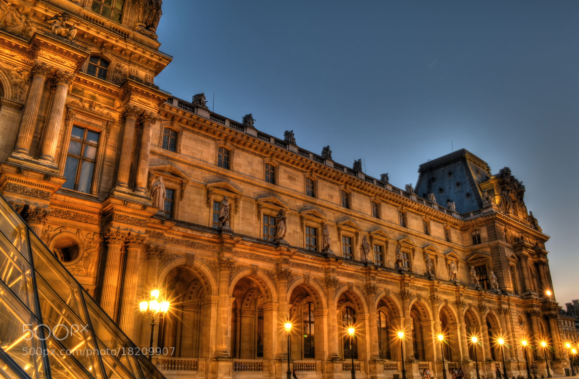 Photograph Louvre by Sascha Reichhardt on 500px