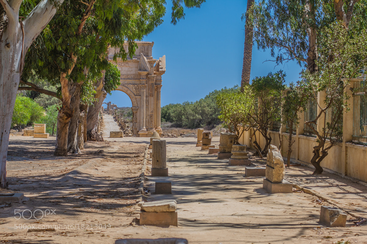 Photograph Leptis Magna  by Abdulhadi Baryoun on 500px