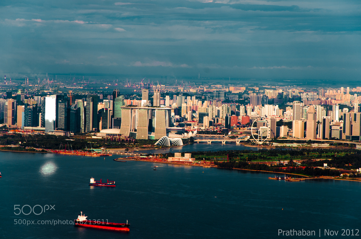 Photograph Marina Bay from above by Prathaban Umapathysarma on 500px