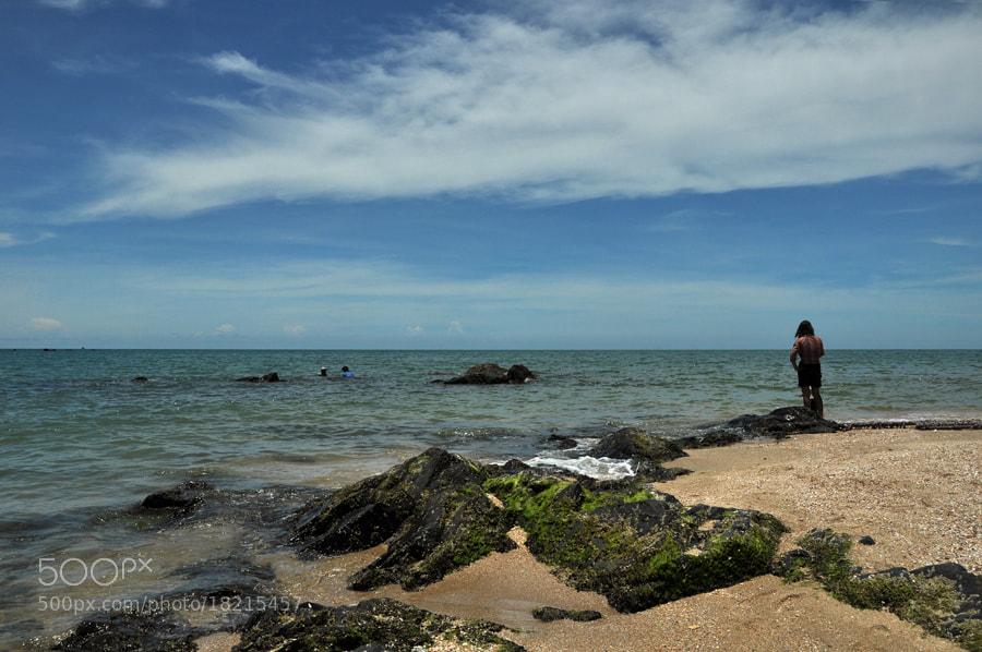 Photograph Samila Beach -2 ( Hatyai ) by Khoo Boo Chuan on 500px