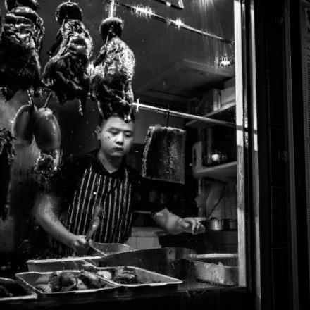 Soho - London, England - Black and white street photography