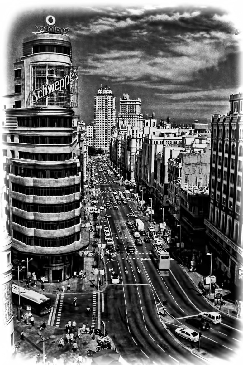 Photograph GRAN VIA...MADRID... by Luis Ferenczi on 500px