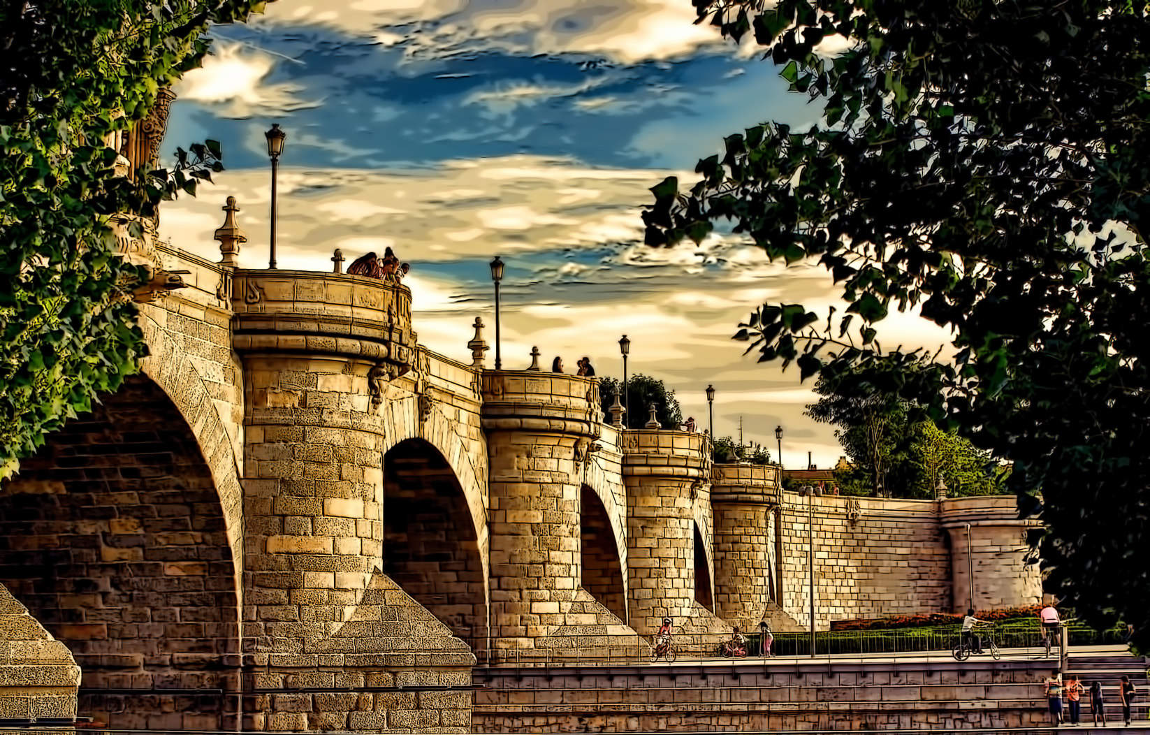 Photograph PUENTE DE TOLEDO...MADRID by Luis Ferenczi on 500px