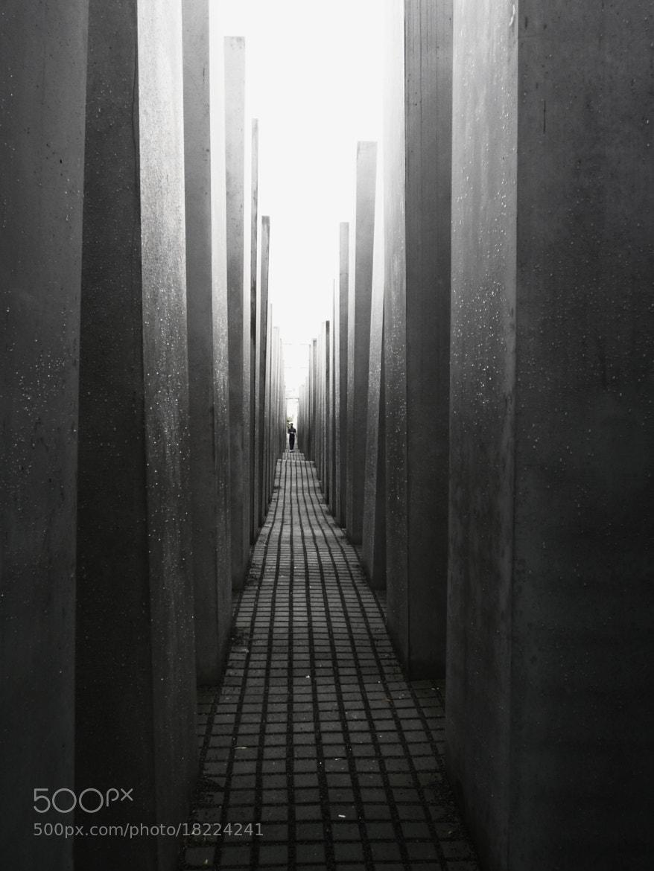 Photograph Holocaust memorial by Amélie Roy on 500px