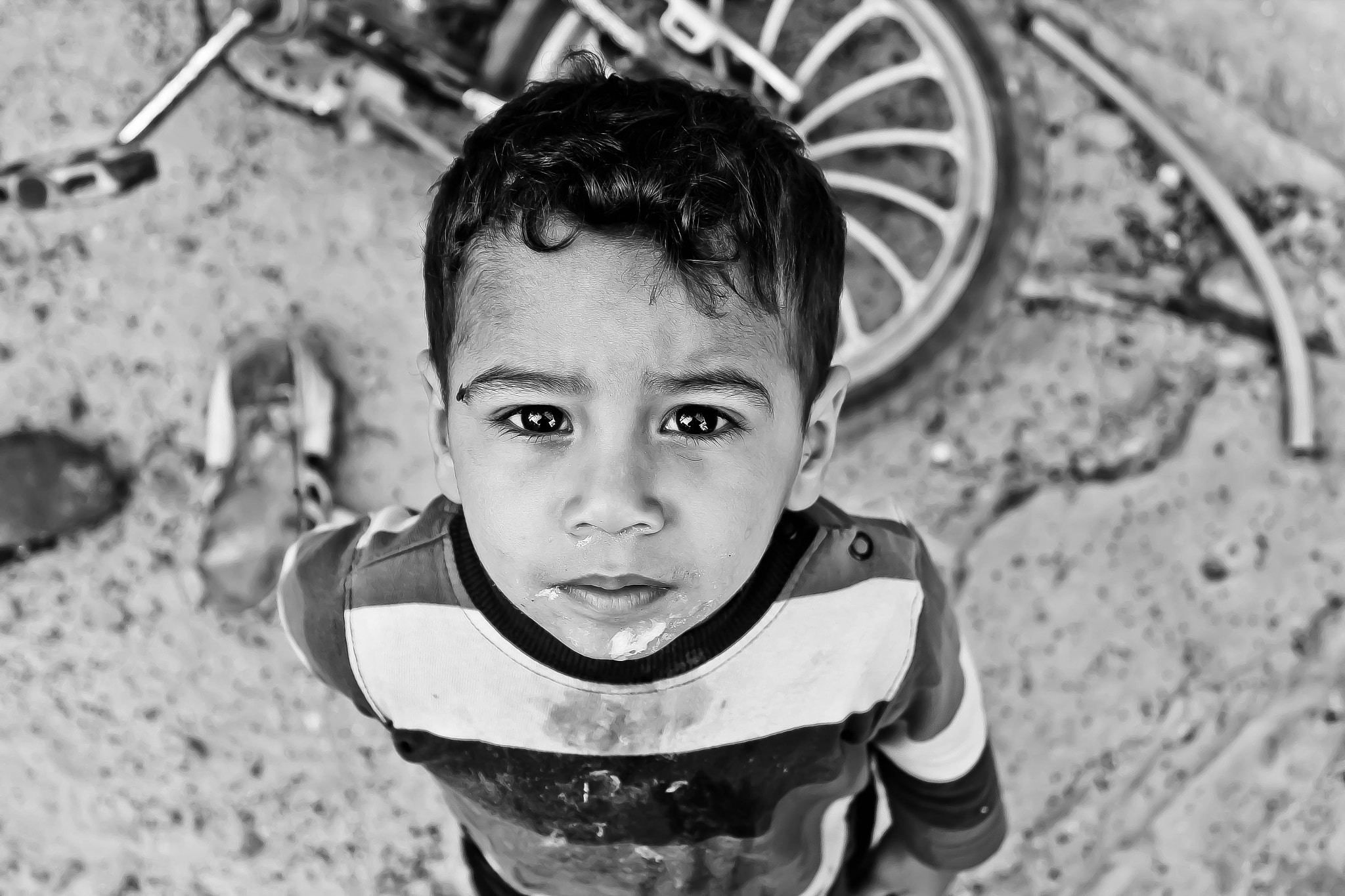 Photograph Poor child by Ali Alhaddaq on 500px