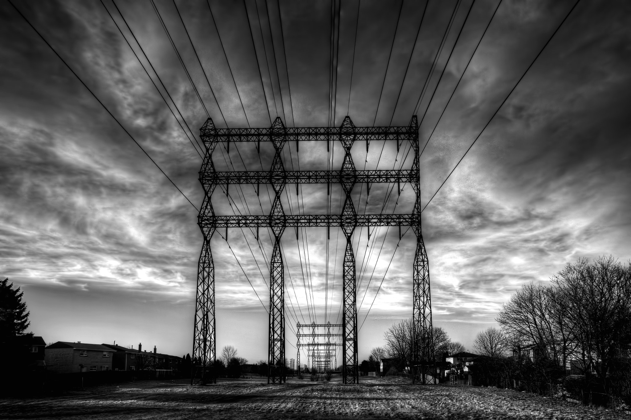Photograph Power Wires... by Roland Shainidze on 500px