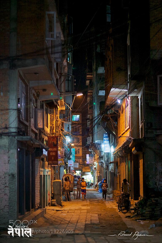 Photograph Kathmandu by night by Édouard Puginier on 500px