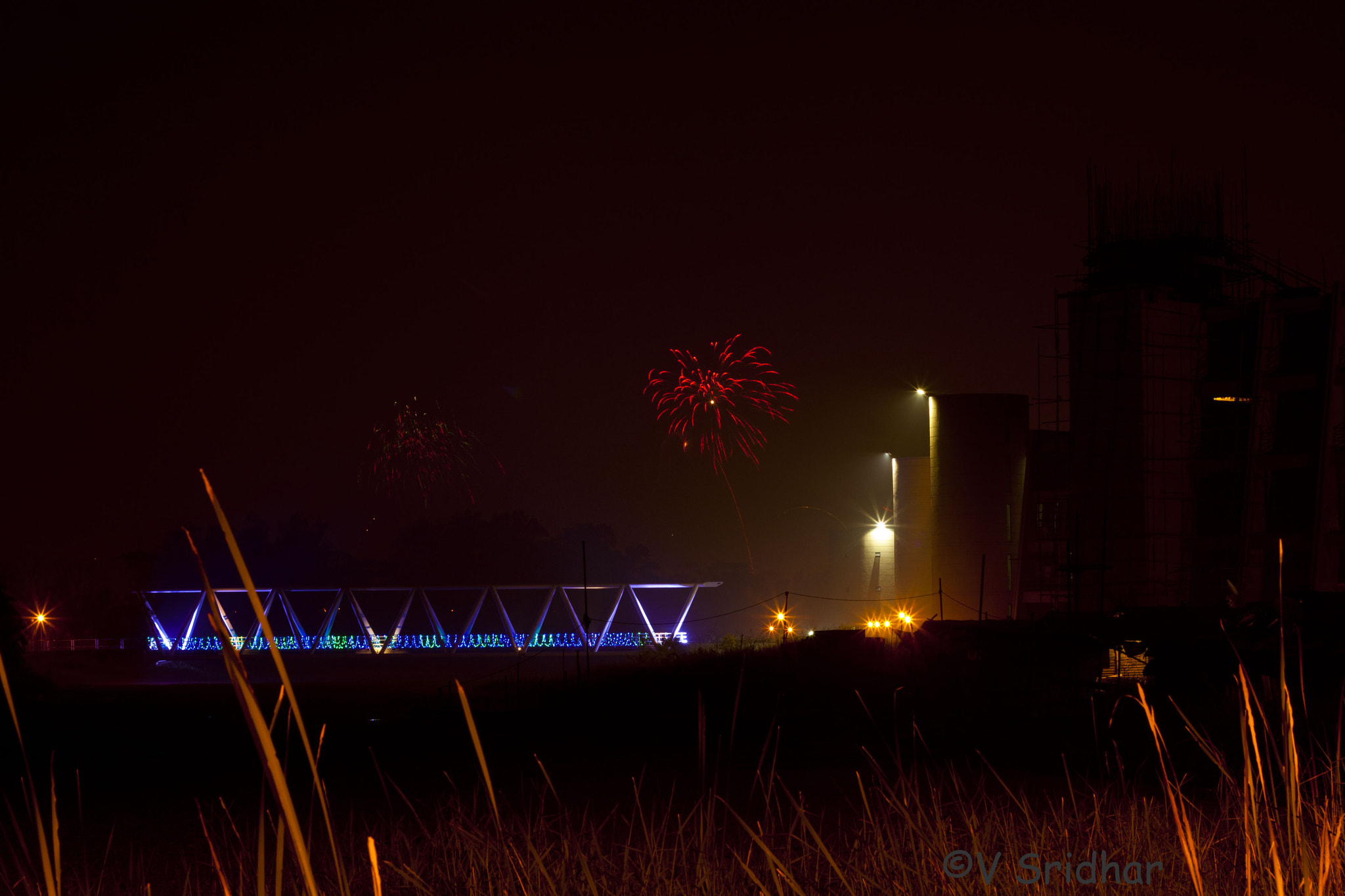 Photograph Fireworks at IIMC by Sridhar Vedaprasad on 500px