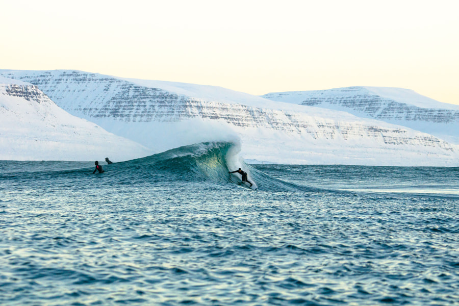 Perfect Wave In Iceland by Chris Burkard on 500px.com