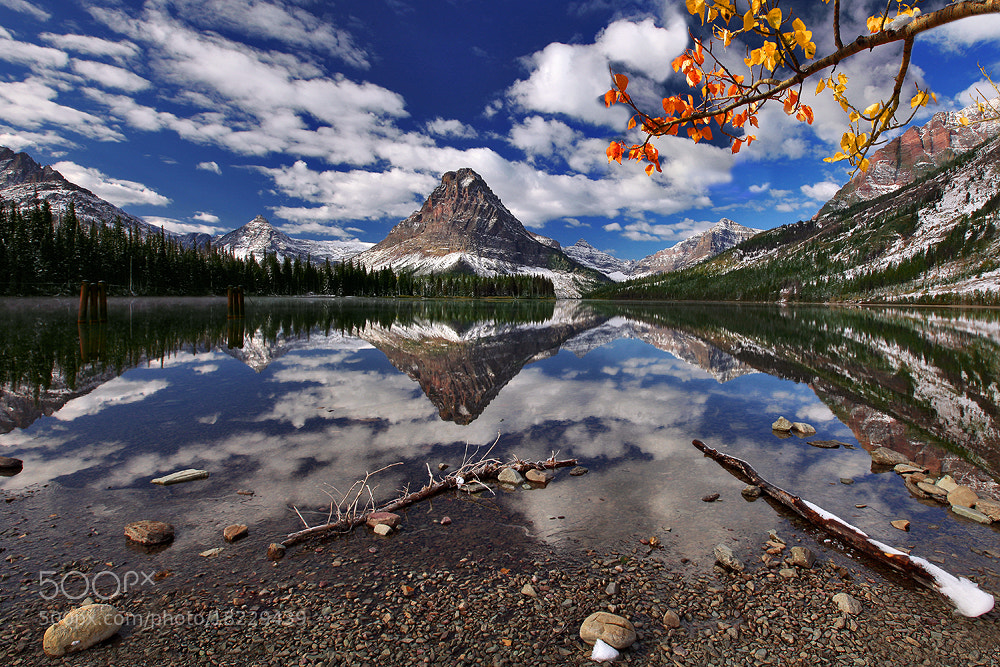 Photograph A Mountain Reflection by al juniarsam on 500px