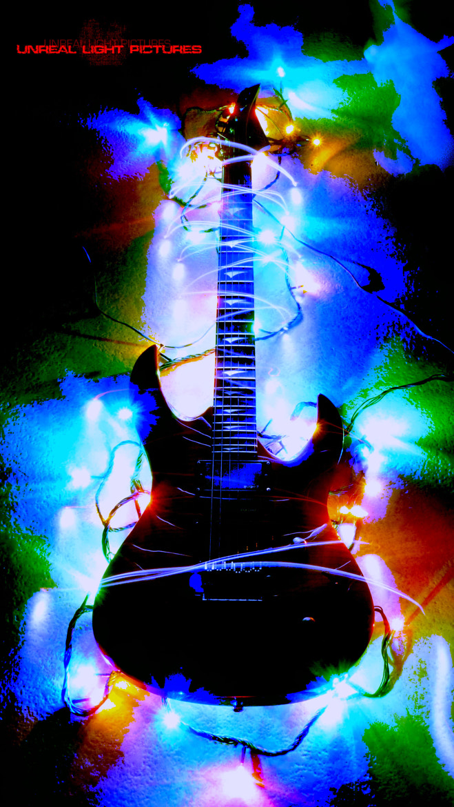 Photograph Light Guitar by Unreal Light Pictures on 500px