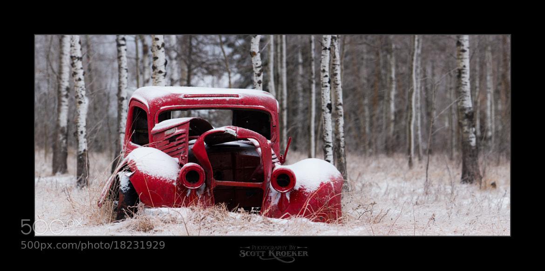 Photograph Old Red In Winter II by Scott Kroeker on 500px