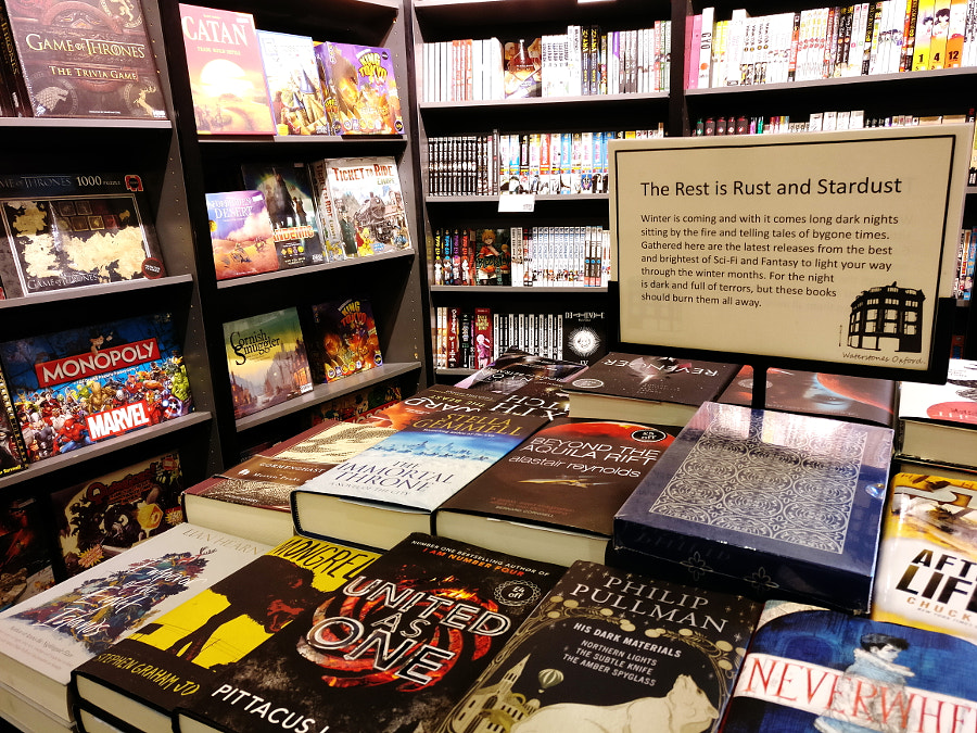 Waterstones Oxford, UK by Sandra on 500px.com
