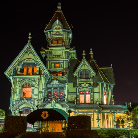 Carson Mansion, Pentax K-5 II S, smc PENTAX-DA* 16-50mm F2.8 ED AL [IF] SDM (SDM unused)