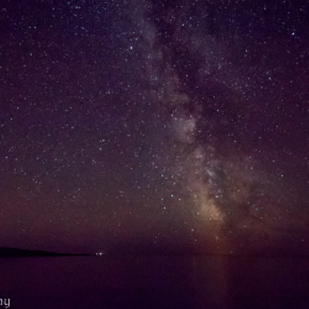 Milky Way at Cheeseman, Canon EOS REBEL T6S, Sigma 8-16mm f/4.5-5.6 DC HSM
