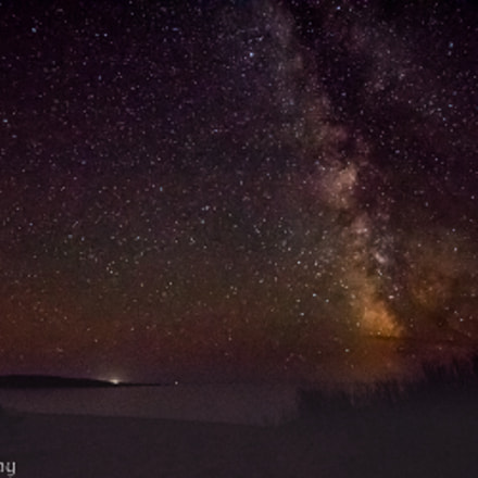 Milky way outside of, Canon EOS REBEL T6S, Sigma 8-16mm f/4.5-5.6 DC HSM