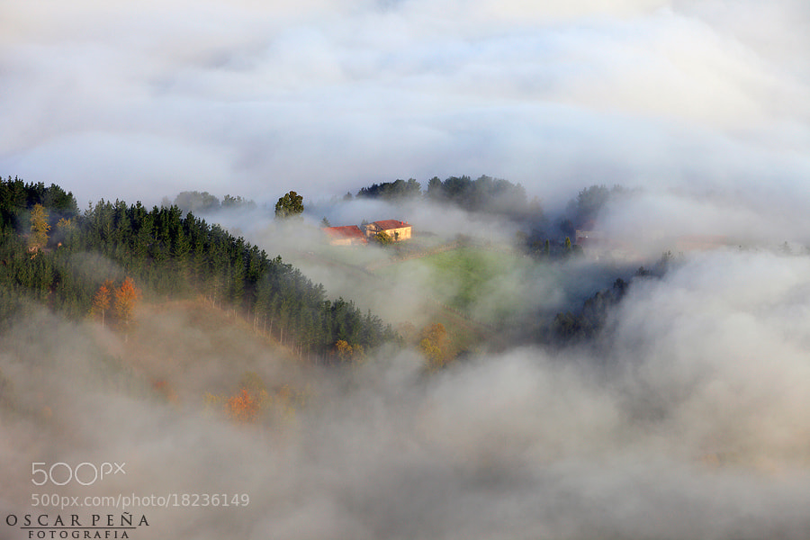 Photograph - Live in the clouds - by Oscar  Peña on 500px