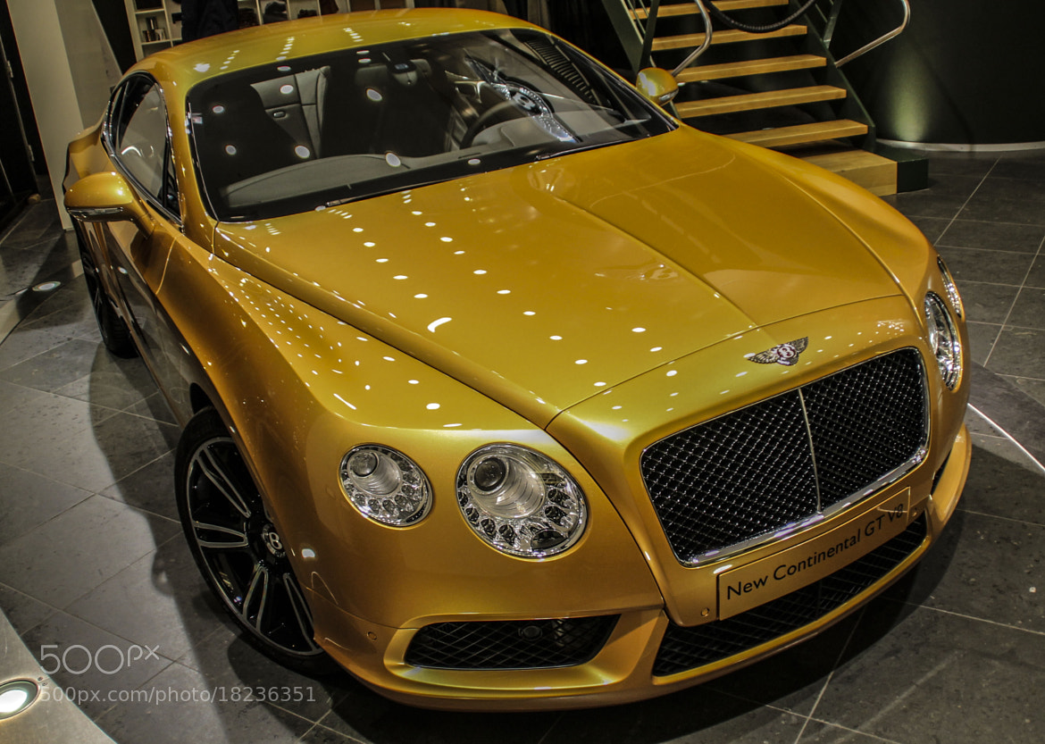 Photograph Bentley Continental GT V8 by Leon Schult on 500px