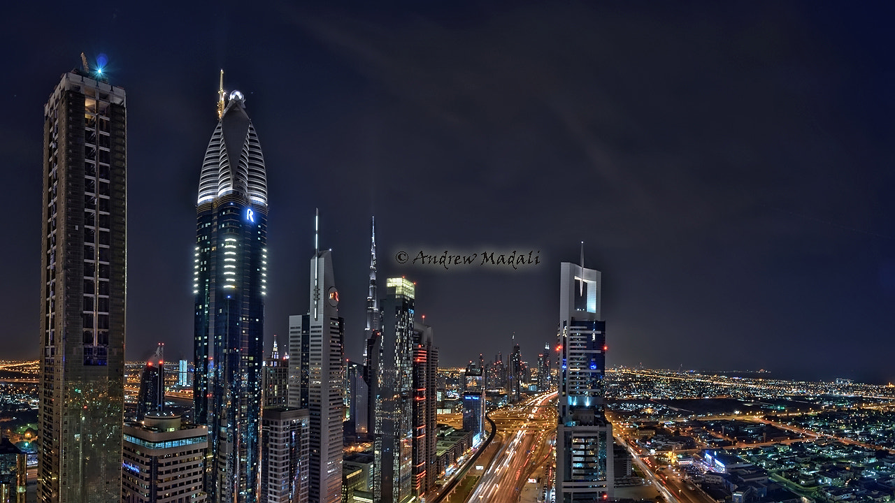Photograph Dubai Skyscrapers by Andrew Madali on 500px