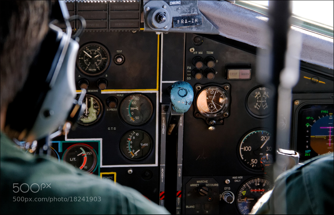 Photograph Transall C-160 by Stéphane Bommert on 500px