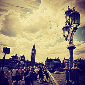 London street, Big Ben and some Olympic Games. by Sergio Nuñez (Sergionu)) on 500px.com