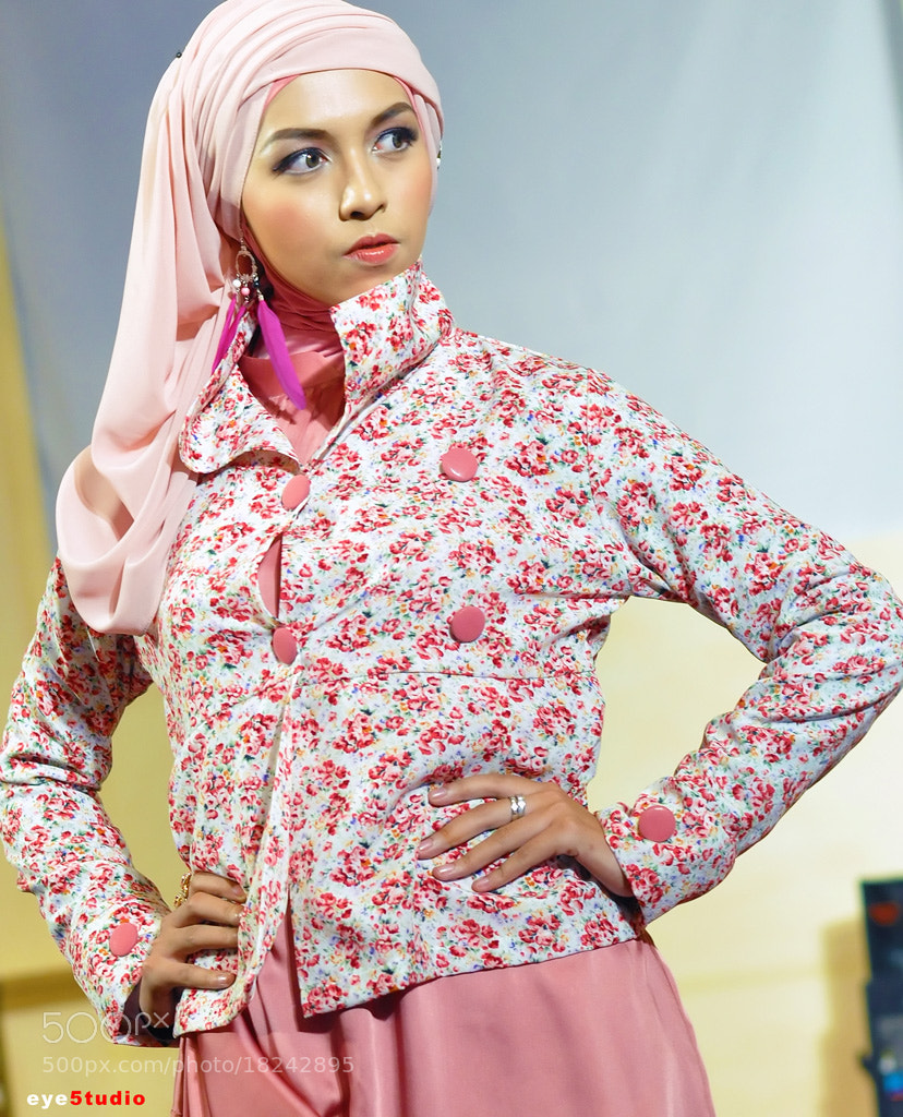 Photograph Pink Hijab by Muhammad Fadli on 500px