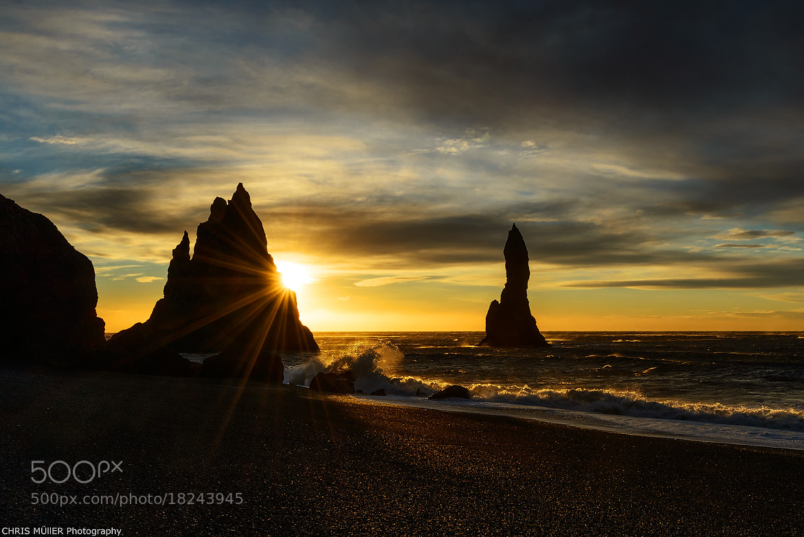 Photograph sea stack by Chris Müller on 500px