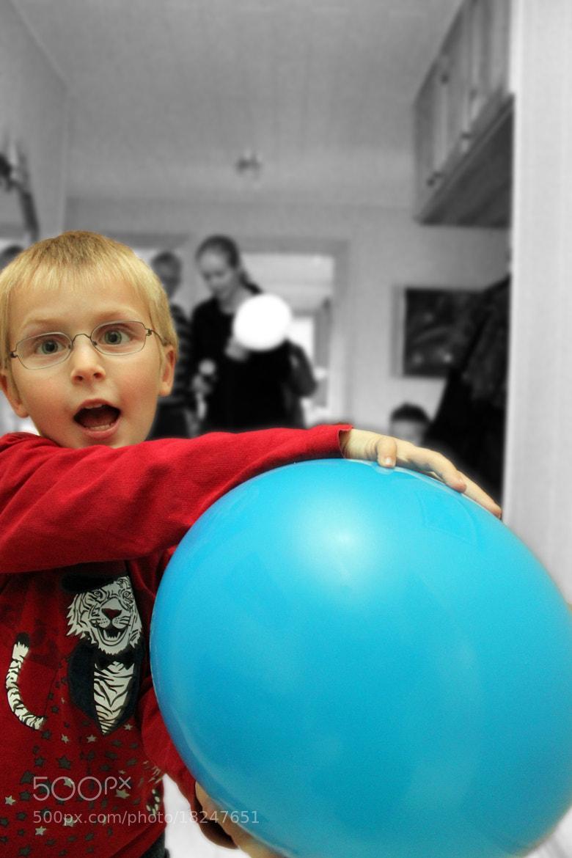 Photograph A boy and his balloon by Nikolai Alex Petersen on 500px