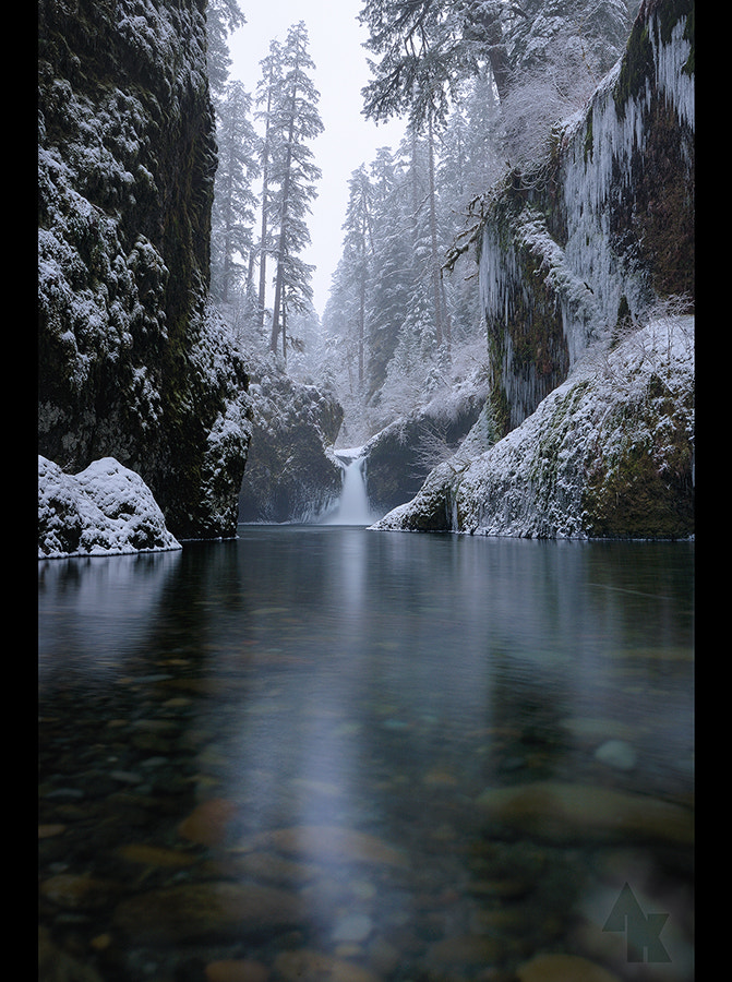 Photograph Eagle Creek Winter... by Andrew Kumler on 500px
