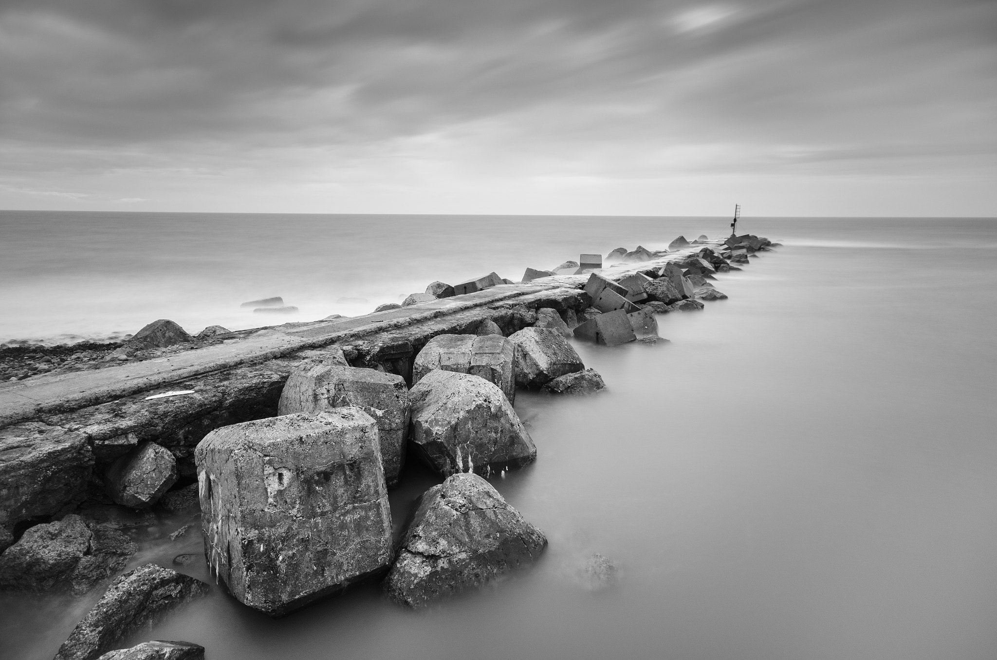 Photograph Breakwater II by Peter Henry on 500px