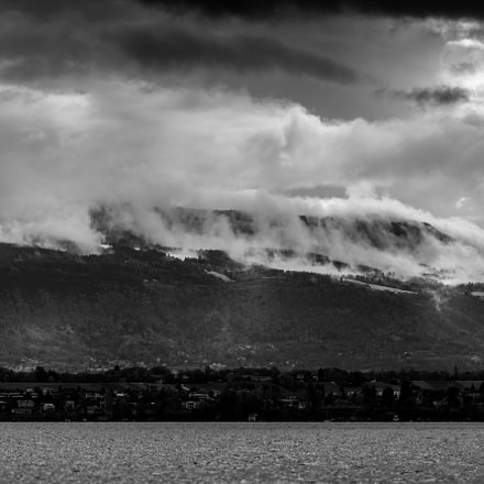 La montagne en feu