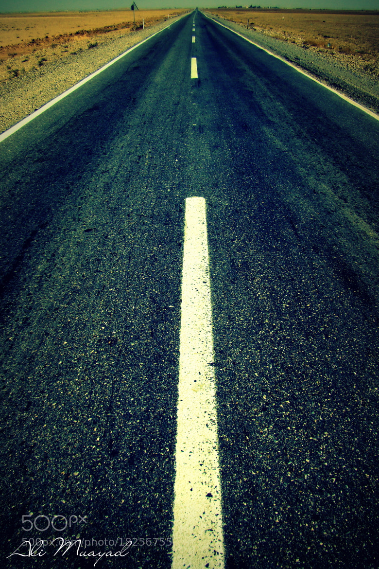 Photograph Road by Ali  Muayyad on 500px