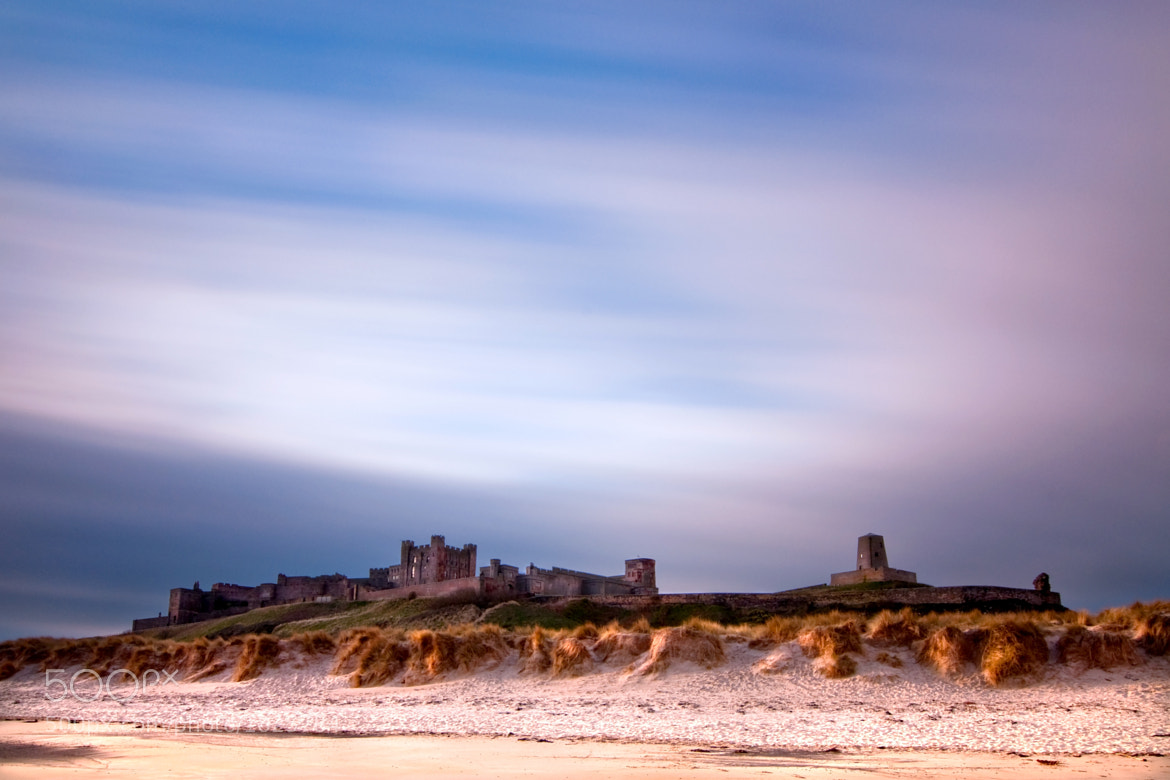 Photograph Bamburgh Castle at Sunrise by Zain Kapasi on 500px
