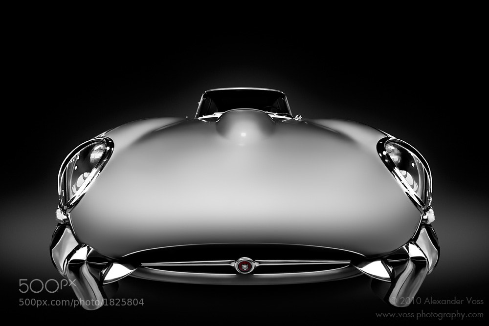 Photograph Jaguar E-Type by Alexander Voss on 500px