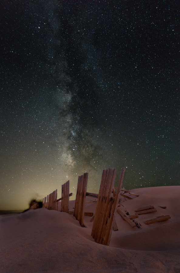 Milky Way over Valdevaqueros Dune by Josema Alonso on 500px.com
