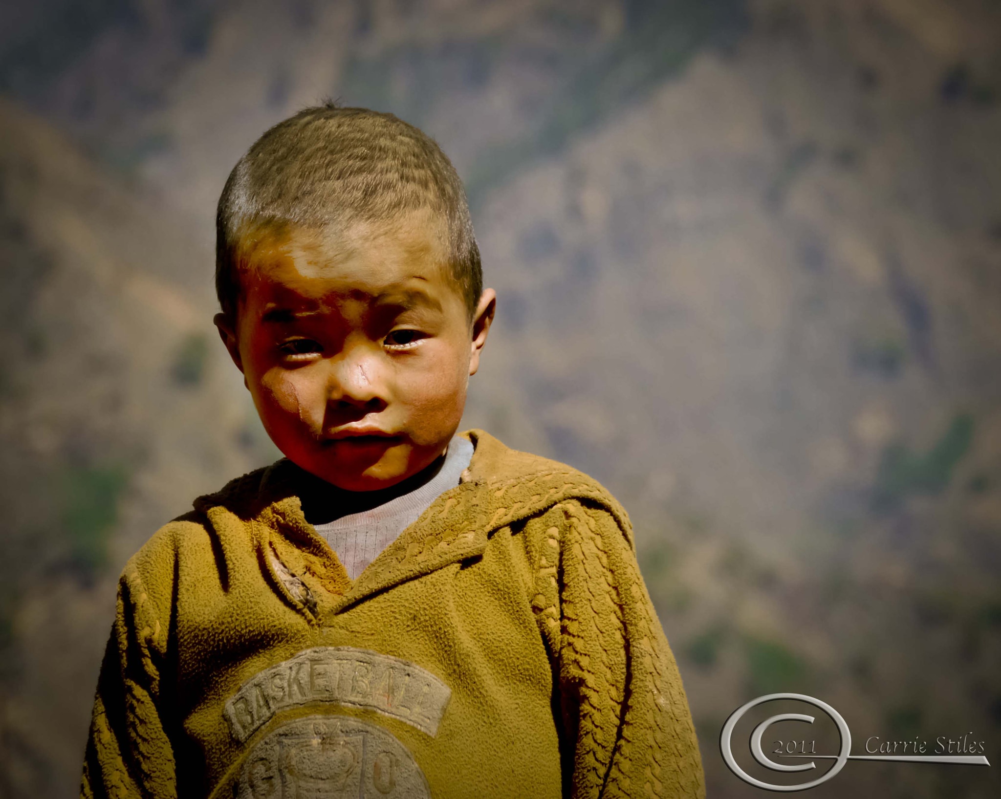 Photograph Nepali Boy by Carrie Stiles on 500px