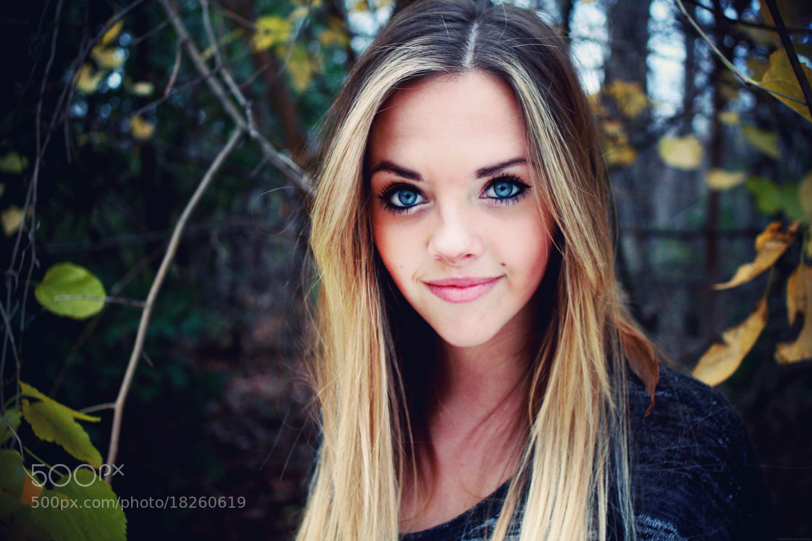 Photograph A Girl with Kaleidoscope Eyes  by Mariah Wyall on 500px