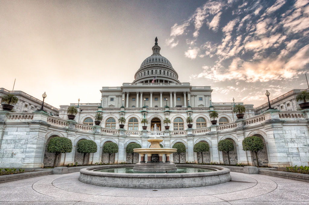 Photograph Dawn at the U.S. Capitol Building by  W Brian Duncan on 500px