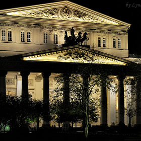 big theater with lantern by Lyudmila Izmaylova (lyutik966)) on 500px.com