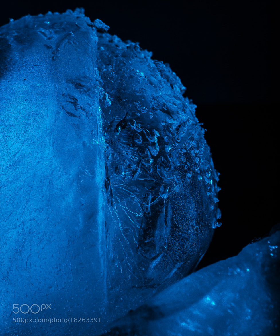 Photograph Ice Globe Shatter by Matthew Edge on 500px