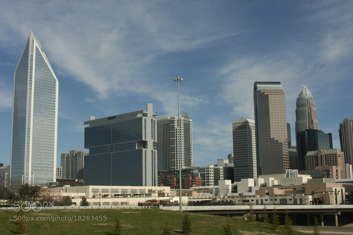 Photograph Charlotte Skyline by Caleb McKnight on 500px