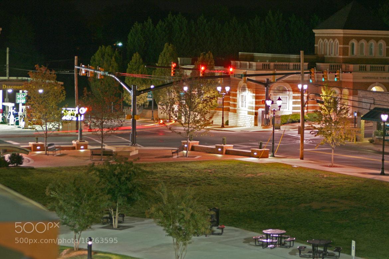 Photograph Huntersville At Night by Caleb McKnight on 500px