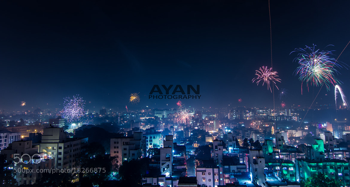 Photograph City on Diwali Night by Ayan Das on 500px