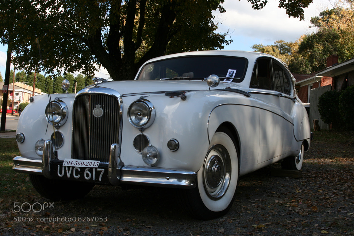 Photograph Jaguar Mark IV by Caleb McKnight on 500px
